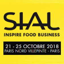 SIAL: Paris 21-25 octobre 2018, Paris Nord Villepinte